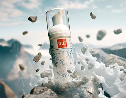 Splat Oral Care Foam Visuals