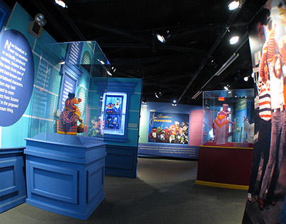 Jim Henson Exhibit Design