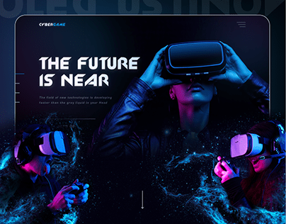 Virtual Reality Club - Cyber Game