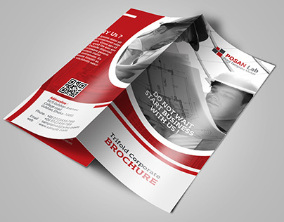 Engineering  Corporate trifold Brochure