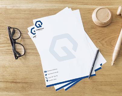 design letterhead A4