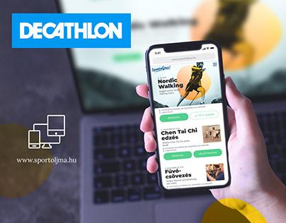 Decathlon // UI Design