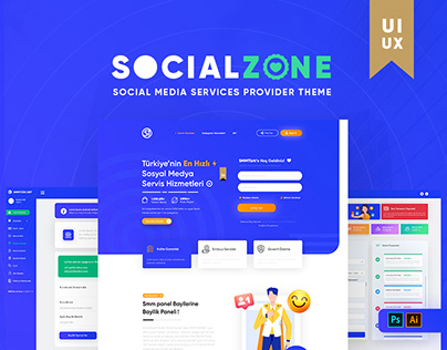 SMM Social Media Services Re-Design