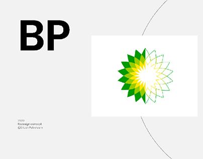 British Petroleum redesign website