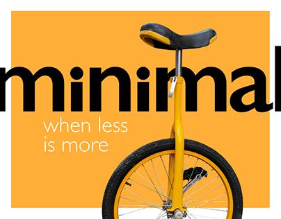Minimal Design Project