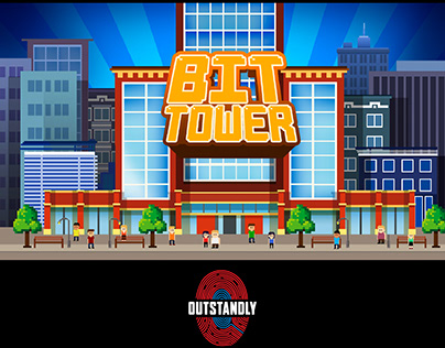 Bit tower game