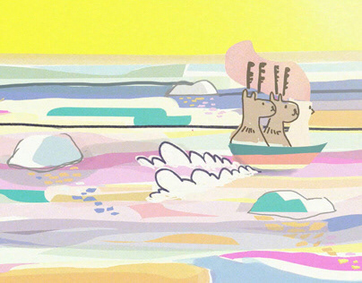 Hand drawn animation for film festival opening