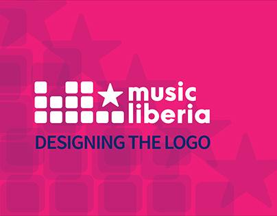 MusicLiberia Logo Design