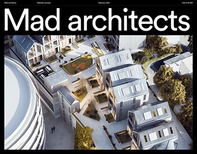 Mad Architects – Portfolio Website