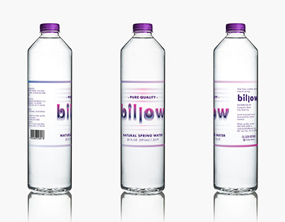"""""""Billow"""" Private Water Label"""