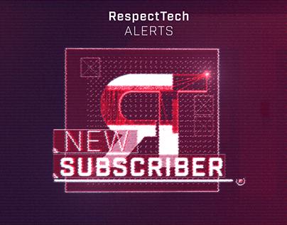 RespectTech Stream Alerts