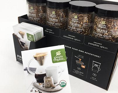 Simply Organic Spice Display