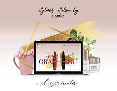 Cosmetic Salon - UI/UX Design