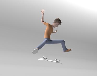 Skate Animation