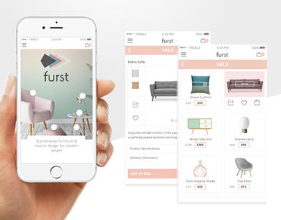 Furst E-commerce Responsive Website