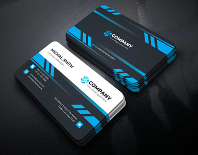Corporate Business Card Template : 13