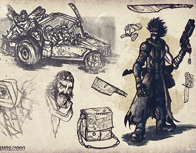 Character design (Dystopian)