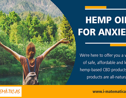 Hemp Oil For Anxiety