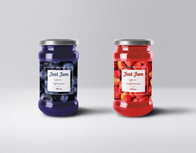 Jam label. Этикетка для варенья