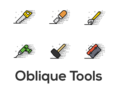 Oblique Icons