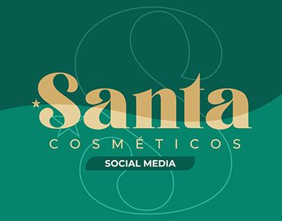 Santa Cosméticos Social Media