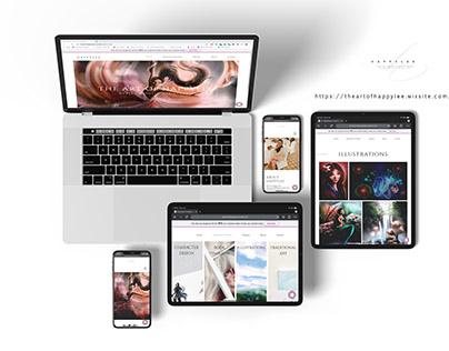 Happylee Website Design (Personal Project)