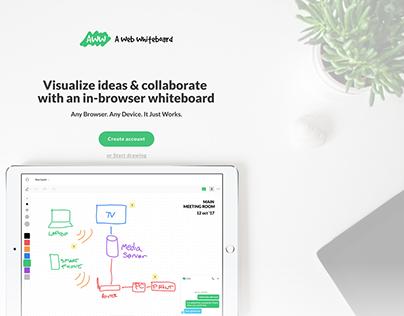 A Web Whiteboard