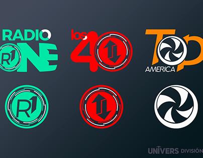 Univers División Radios - Re-branding 2016-2017