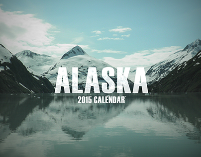 Alaska Trip Calendar 2015