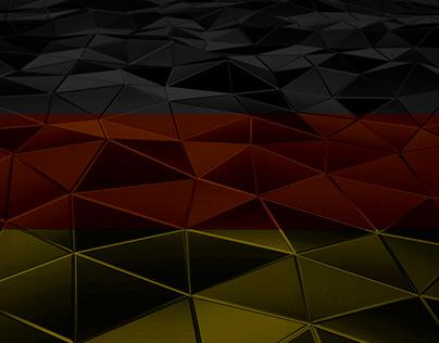 Das geometrische Wallpaper