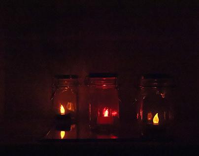Three Colorful Jar 1-2