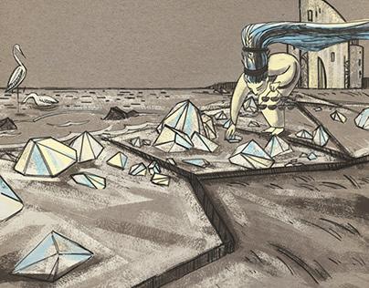 The Steppes of Khazar - animation film