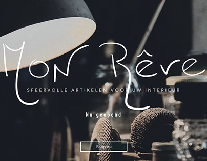 Mon Reve Website (Company Design)