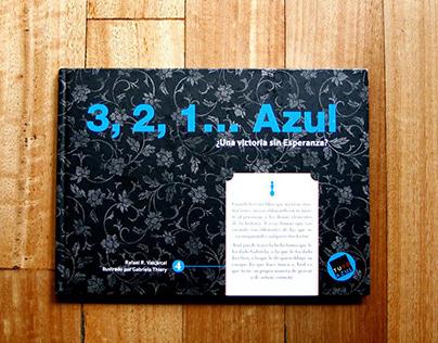 3,2,1... Azul   Children's book