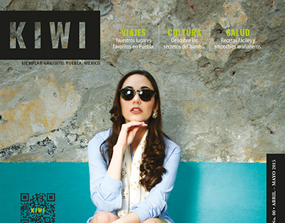 Revista Kiwi - Diseño editorial
