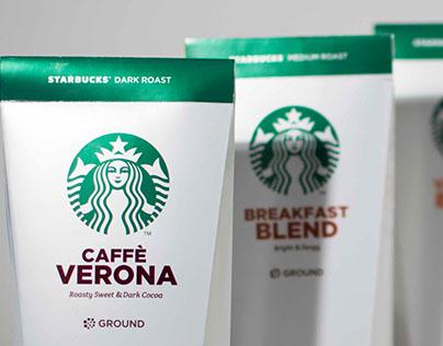 Starbucks Ground Coffee Packaging