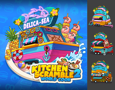 Delica-Sea World - Kitchen Scramble 2
