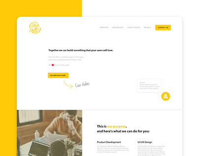 User interface design for web/mobile views and branding