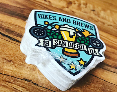 BIKES AND BREWS CLUB BRAND