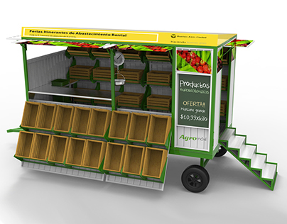 AGROMÓVIL / Trailer - Mobile Food Stall