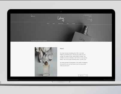 Landing Page | Perfume Lullaby | Парфюм Колыбельная