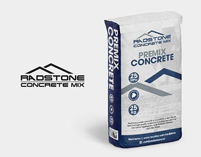 Radstone Concrete Mix - Packaging