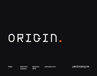 Origin Typeface — Free Demo