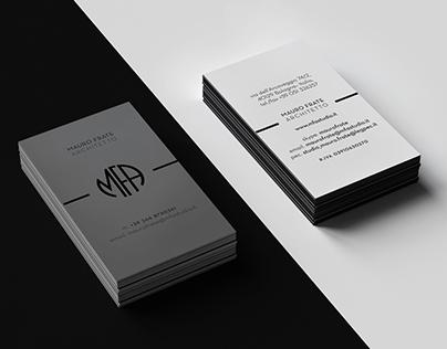 Mauro Frate Architetto - Corporate Identity