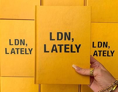 LDN, LATELY- Poetry/photobook