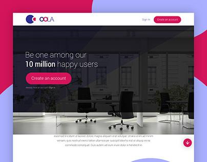 Oola - Concept UI Design