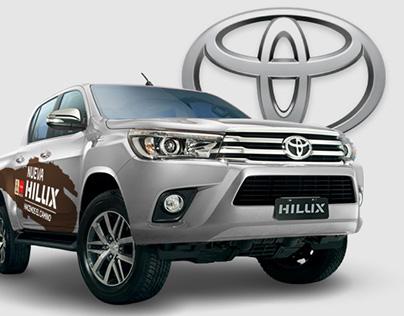 Toyota - Folletería y Gráfica Vehícular
