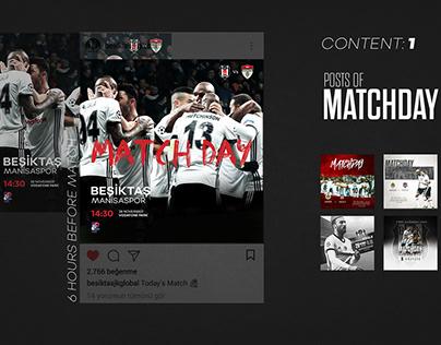Designs for Social Media Accounts / Beşiktaş JK