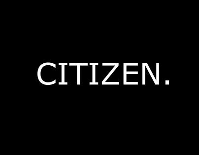 Citizen Logo Design