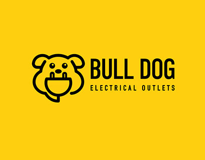Bull Dog Electrical Outlets - Logo animation